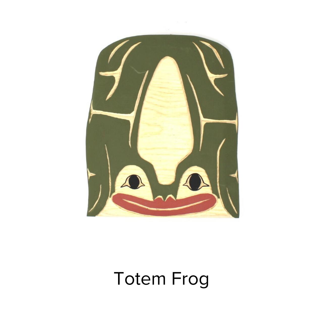 Firewoman Studio Totem Med Frog