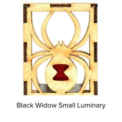 Sunbird Luminary Sm Black Widow