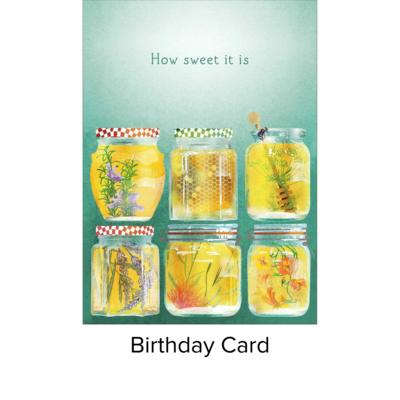 Studio 11 Card B Day Honey Jars LI 1079