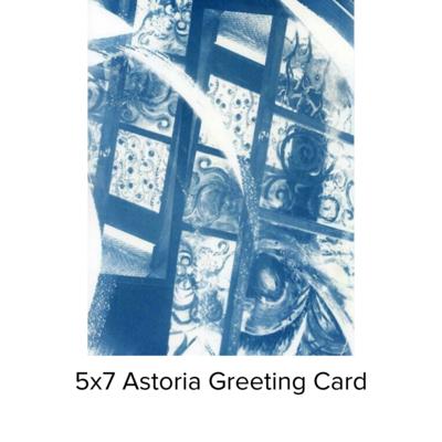Karen Johanson Astoria 5x7 Pearl Greeting Card