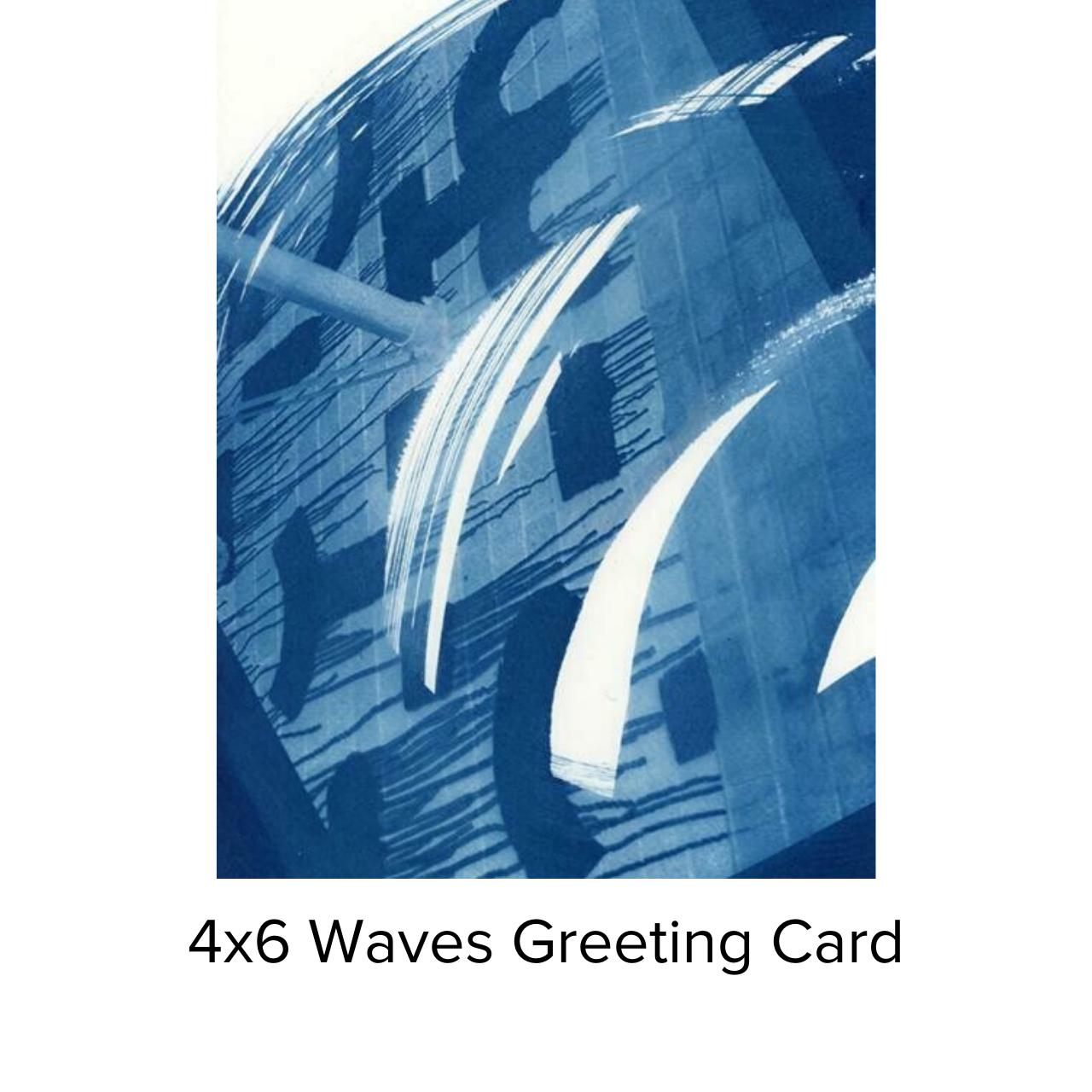 Karen Johanson Waves Greeting Card