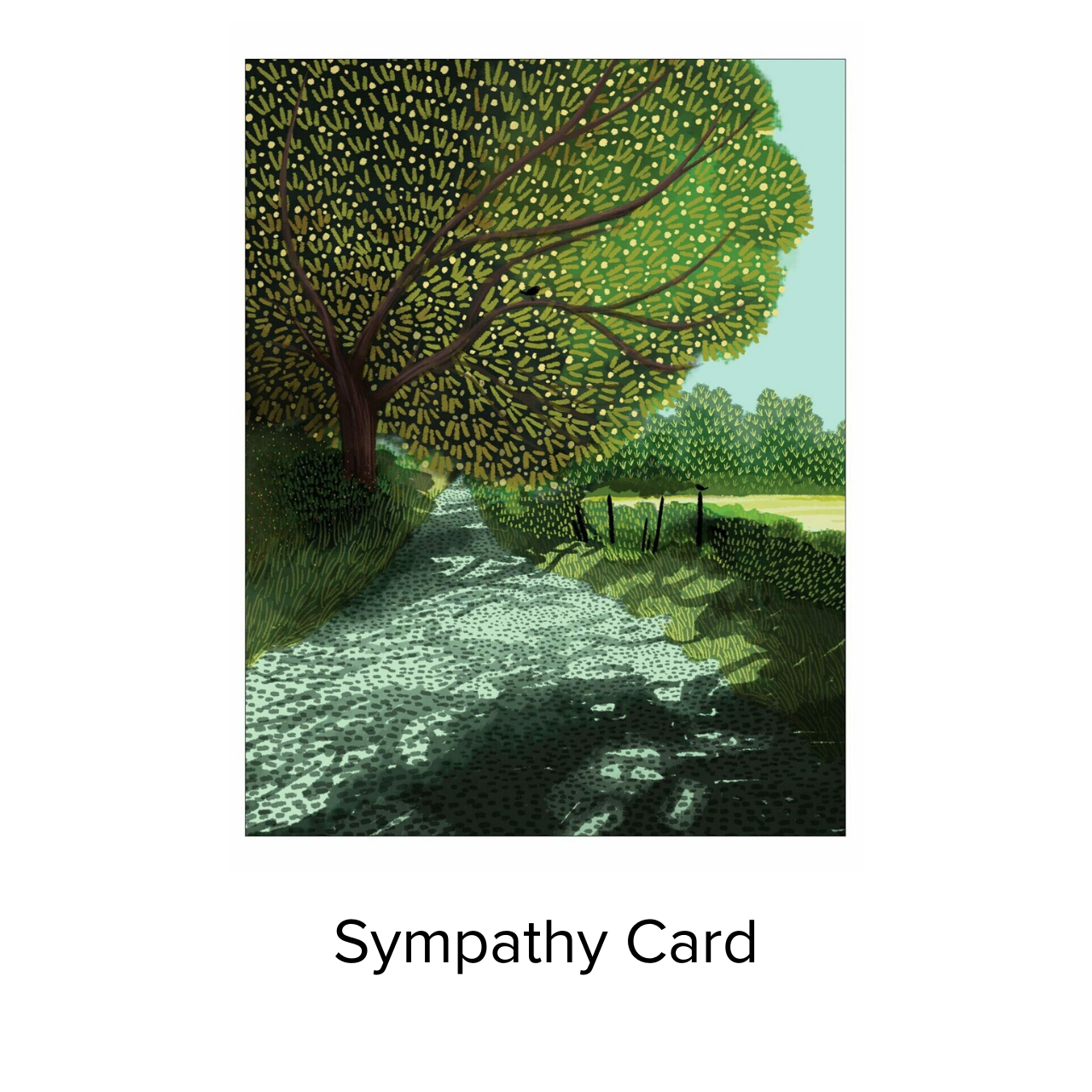Studio 11 Card Tranquil Path Sym JN 024
