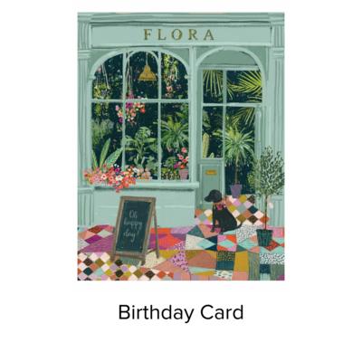 Studio 11 Card B Day Flower Shop VB037