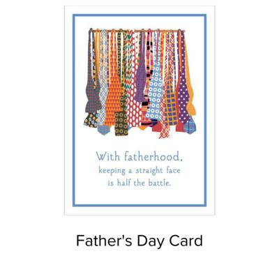 Card Father's Day Bow Ties LI1024F