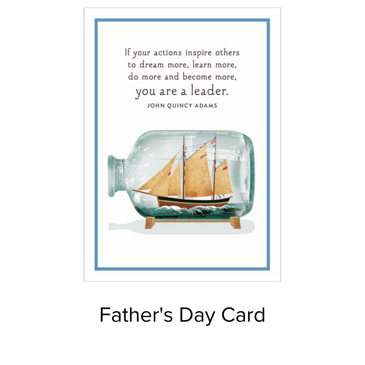 Studio 11 Card Father's Day Ship