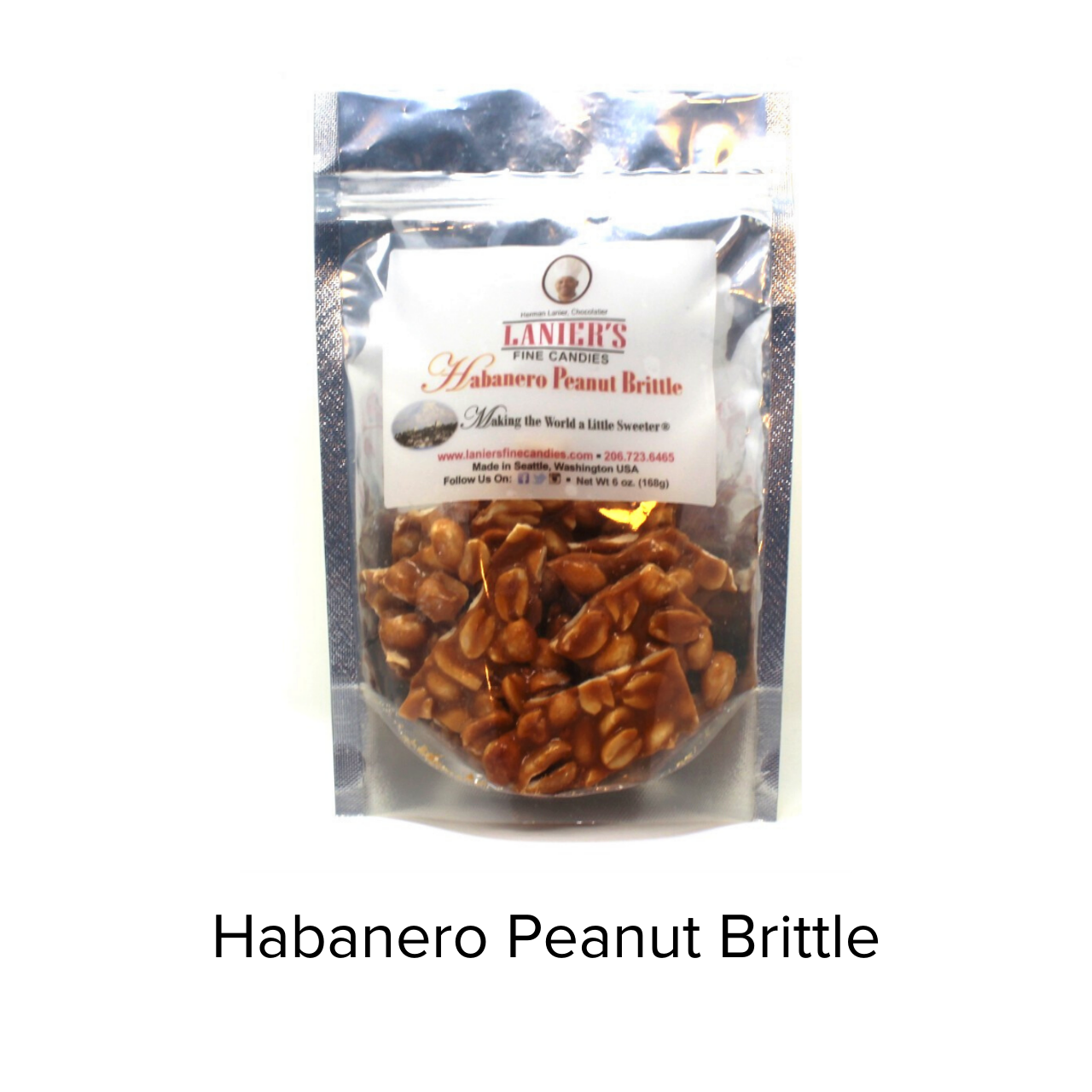 Laniers Brittle Habanero Peanut