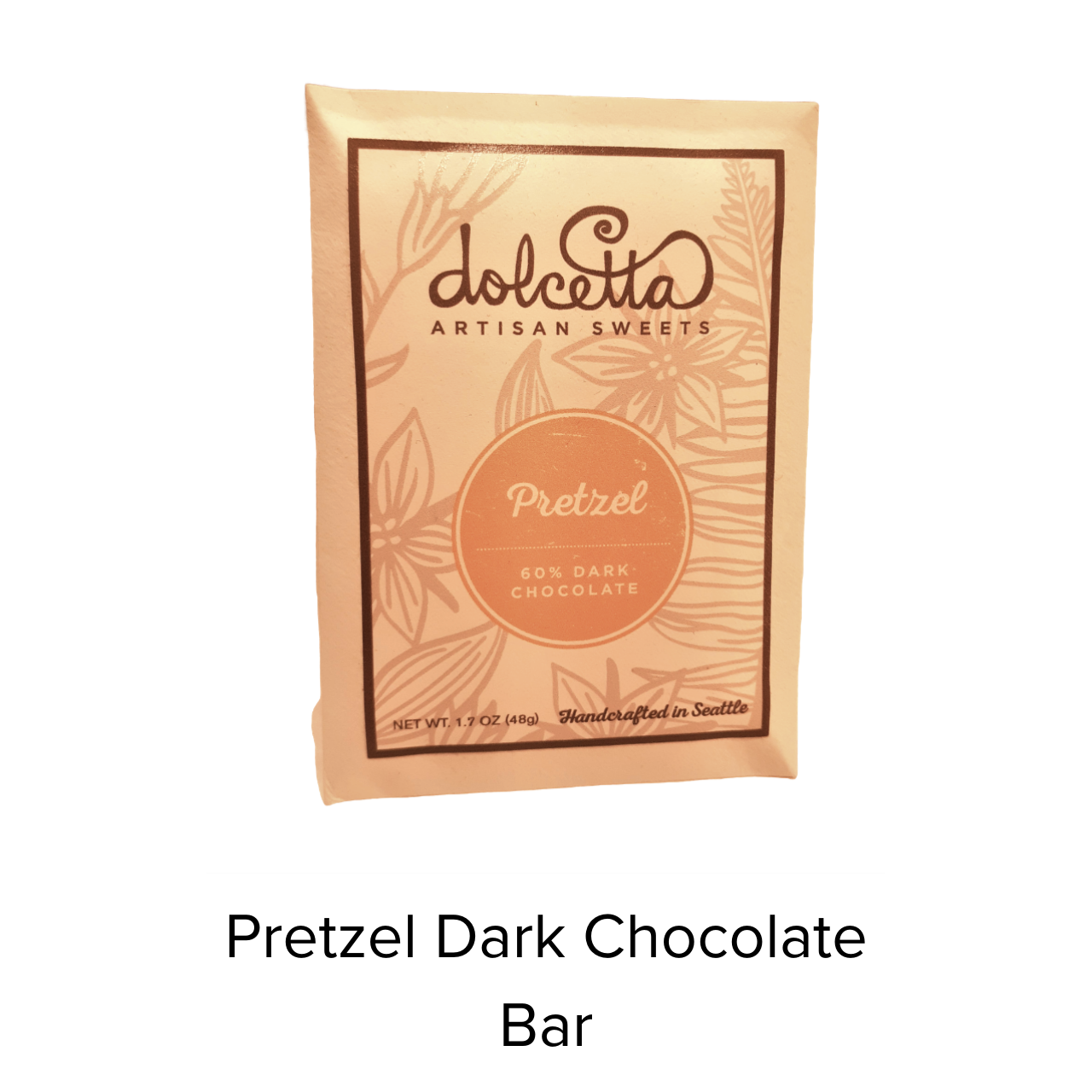 Dolcetta Pretzel Dark Chocolate Bar