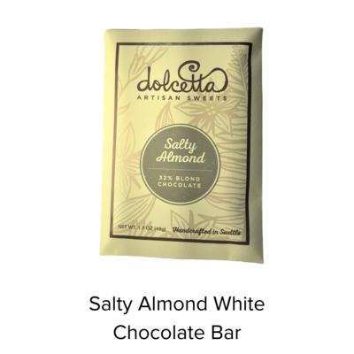 Dolcetta Salty Al White Choc Bar
