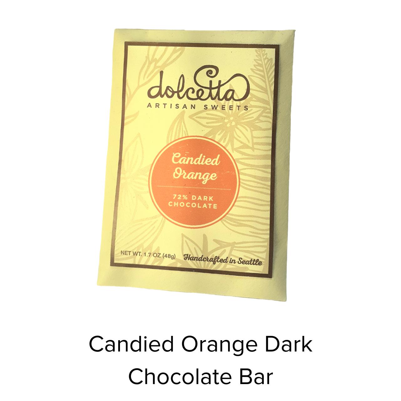Dolcetta Candied Orange Choc Bar