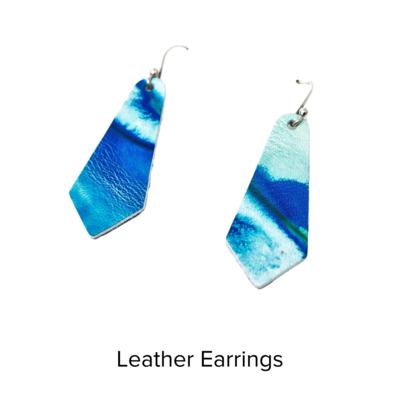 Moo Young Crystal Earrings S