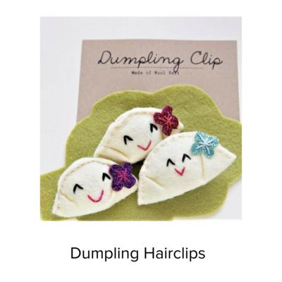 Catshy Crafts Dumpling Hairclip