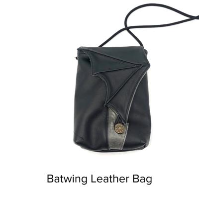 PJ Sheehy Bag Leather Batwing