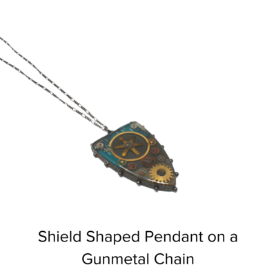 TM Originals Shield Necklace