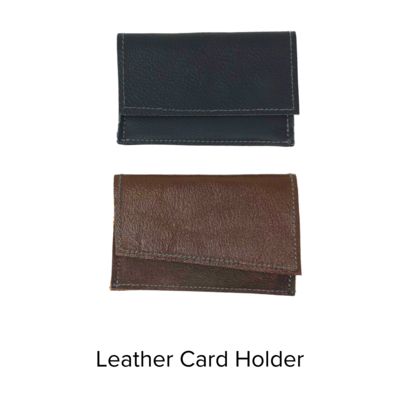 PJ Sheehy Card Holder Leather