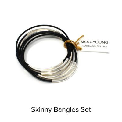 Moo Young Skinny Bangles
