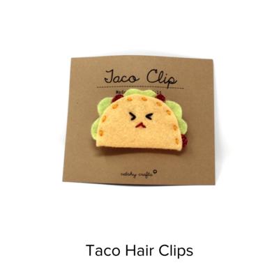 Catshy Crafts Taco Hairclip