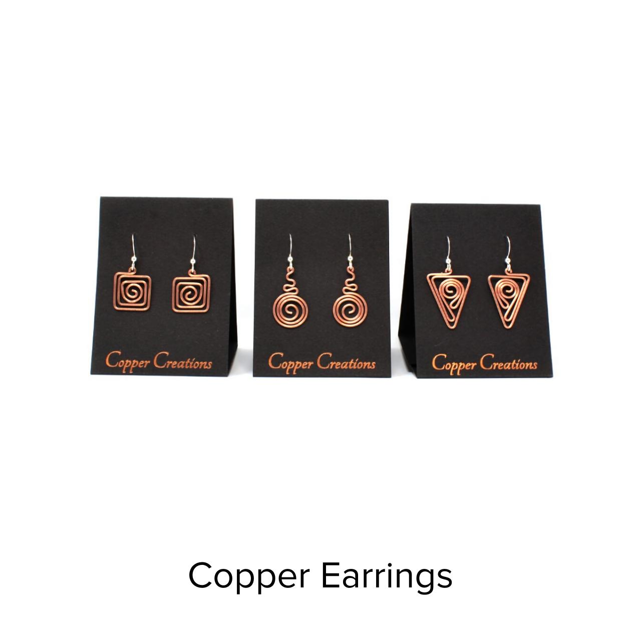 Copper Creations Copper Earrings
