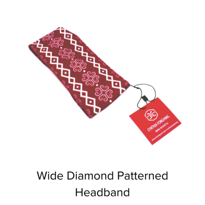 Cynthia Yongvang Headband Twist Diamond
