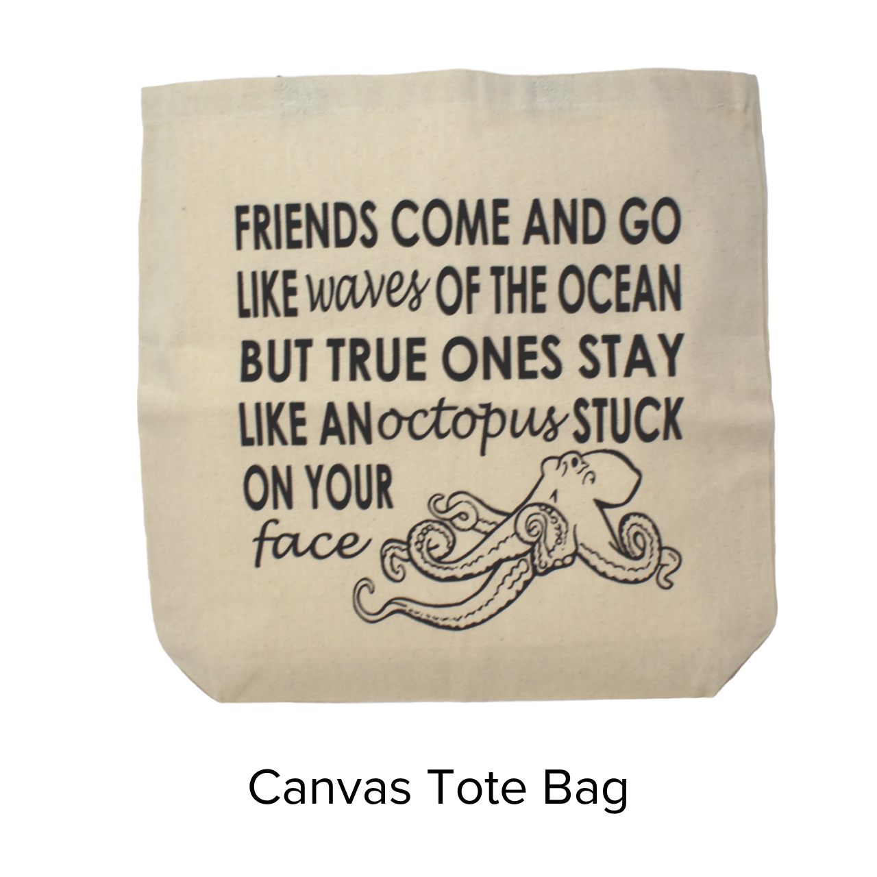 Ash & Ember Octopus Friends Tote