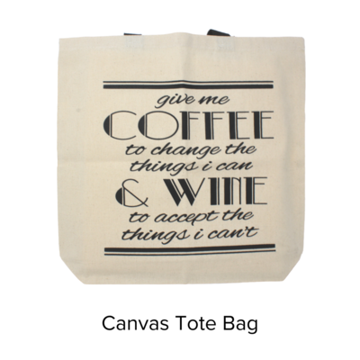 ZZ Ash & Ember Coffee & Wine Tote