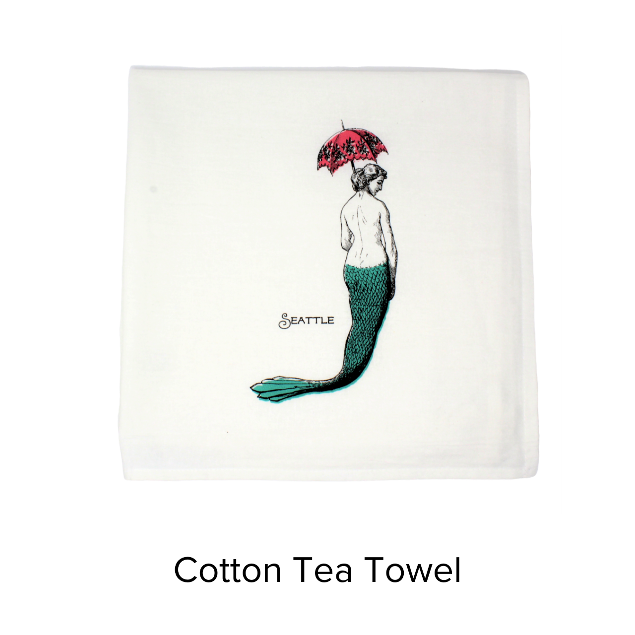 Sunday Drive Towel Mermaid