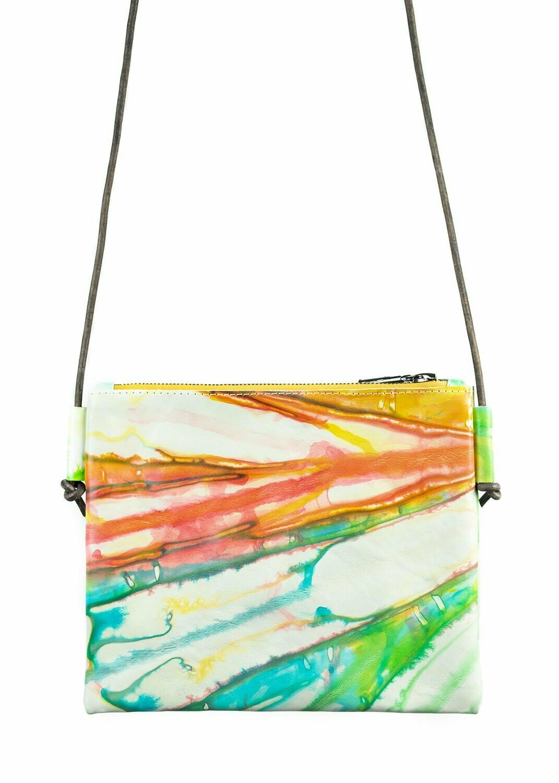 Moo Young Crossbody Bag Shibori