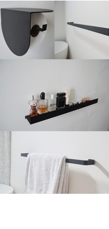 Viola & Blanche bathroom set-Black