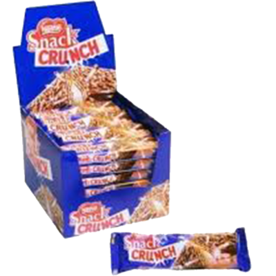 SNACK CRUNCH NESTLE 30uni x 33grs
