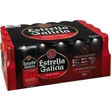 Estrella Galicia lata pack 24x33cl (0,67€ uni)