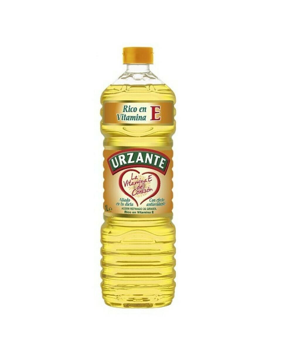 Aceite Girasol URZANTE 1 Litro