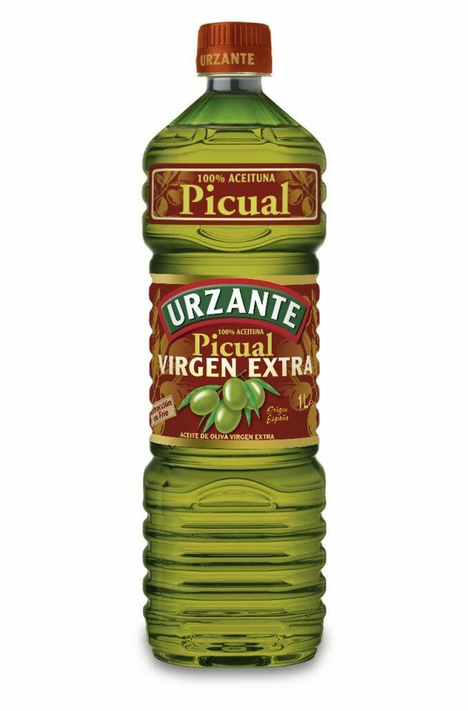 Aceite de oliva virgen extra 100% picual URZANTE 1L