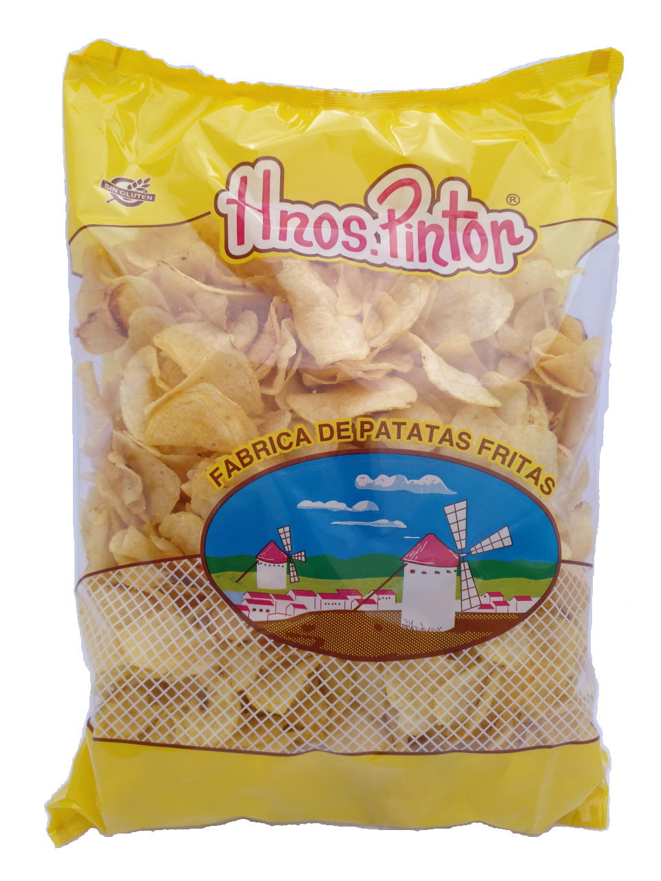 Patatas fritas artesanas HNOS PINTOR bolsa 1kg