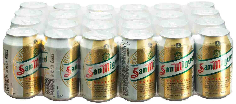 San miguel lata pack 24x33cl (0,51€ uni)