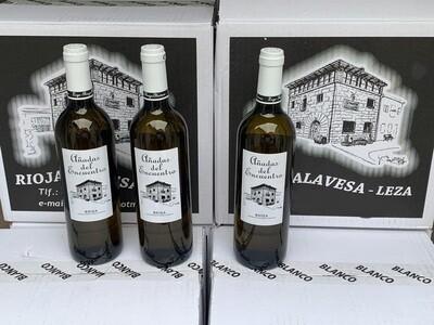 Vino blanco de año AÑADAS DEL ENCUENTRO caja 12 botellas