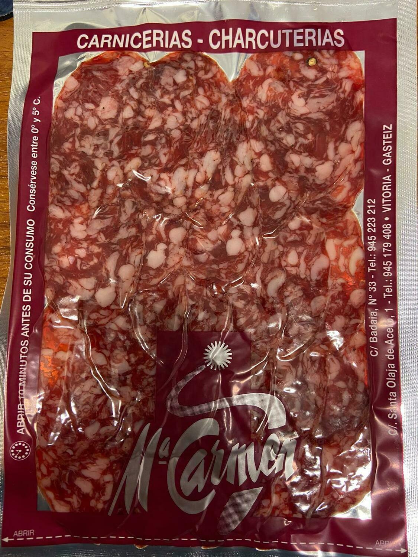 Salchichón Ibérico bandeja , aprox.  145 gr.