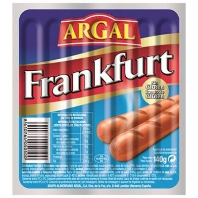 Paquete salchichas Frankfurt ARGAL