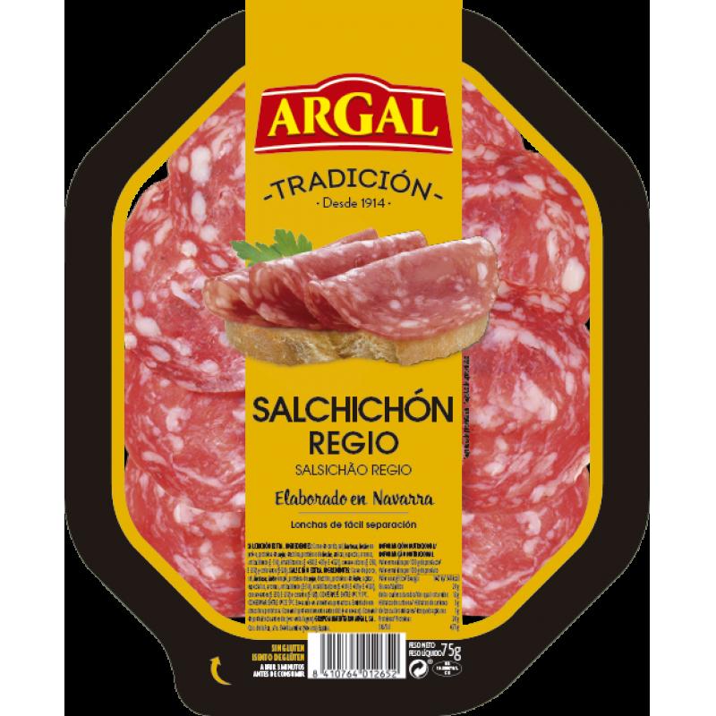 Salchichón regio ARGAL 70 gr.
