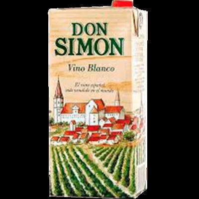 Vino DON SIMON Blanco Brick 1L