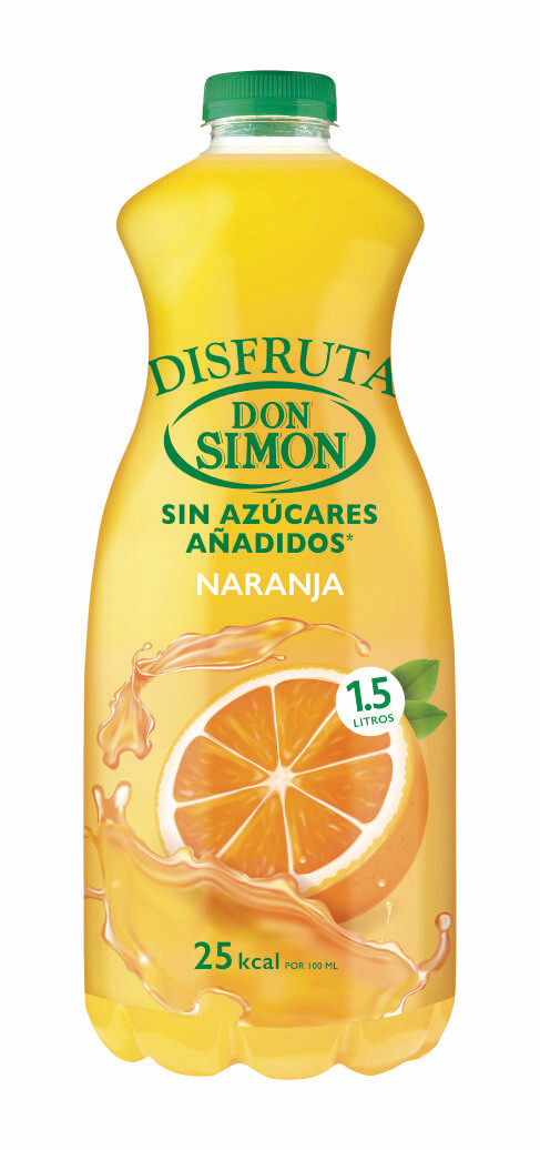 Zumo DON SIMON Naranja 1.5 L