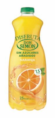 Zumo DON SIMON Naranja (pack 6 x 1.5 L)