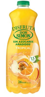 Zumo DON SIMON Tropical (pack 6 x 1.5 L)
