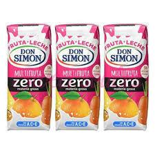 Fruta leche DON SIMON Multifruta (pack 3 x 330 ml)