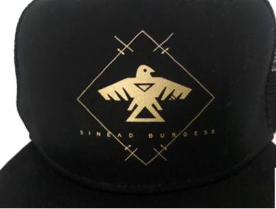 Sinead Burgess Gold Thunderbird Cap (including shipping)
