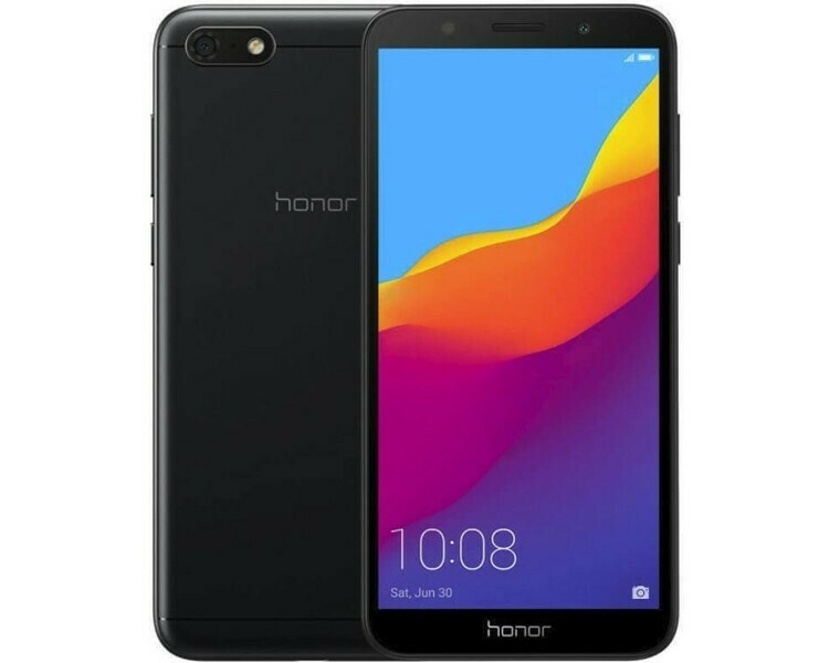 Смартфон Huawei Honor 7S 1/16Gb черный
