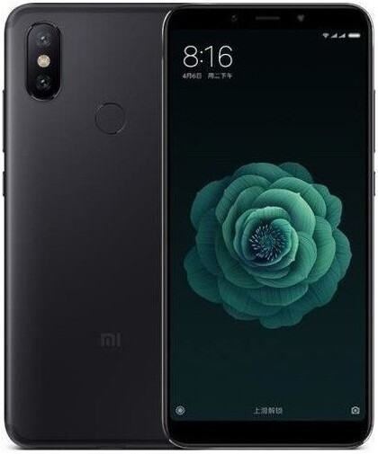 Смартфон Xiaomi MI A2 4/32Gb Android One черный