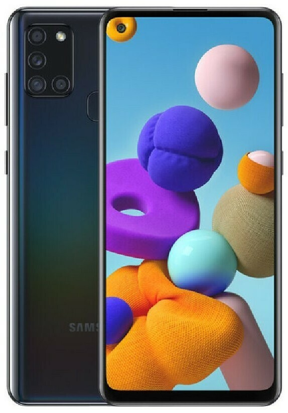 Смартфон Samsung Galaxy A21s 3/32Gb черный