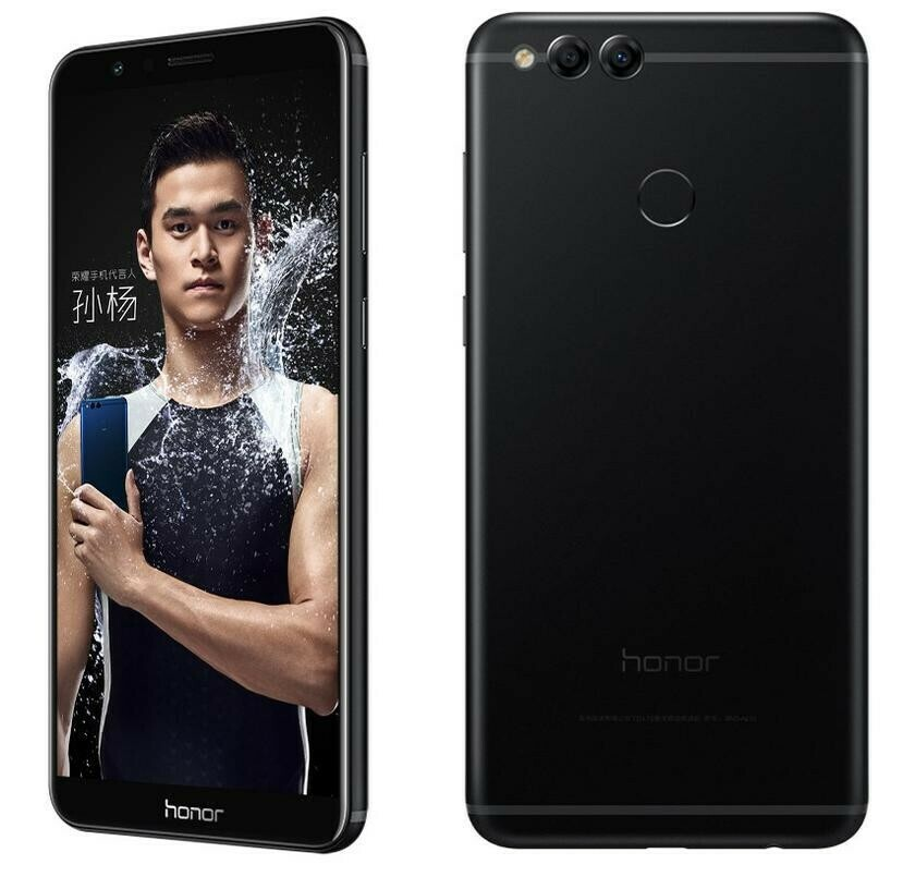 Смартфон Huawei Honor 7X 4/64Gb черный
