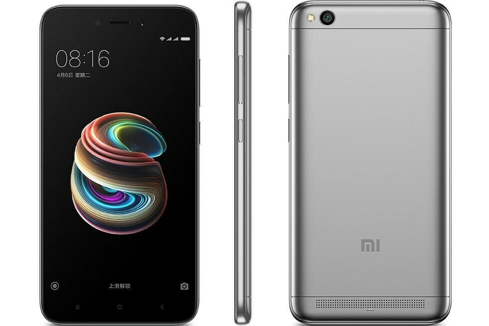 Смартфон Xiaomi Redmi 5A 3/32Gb черный