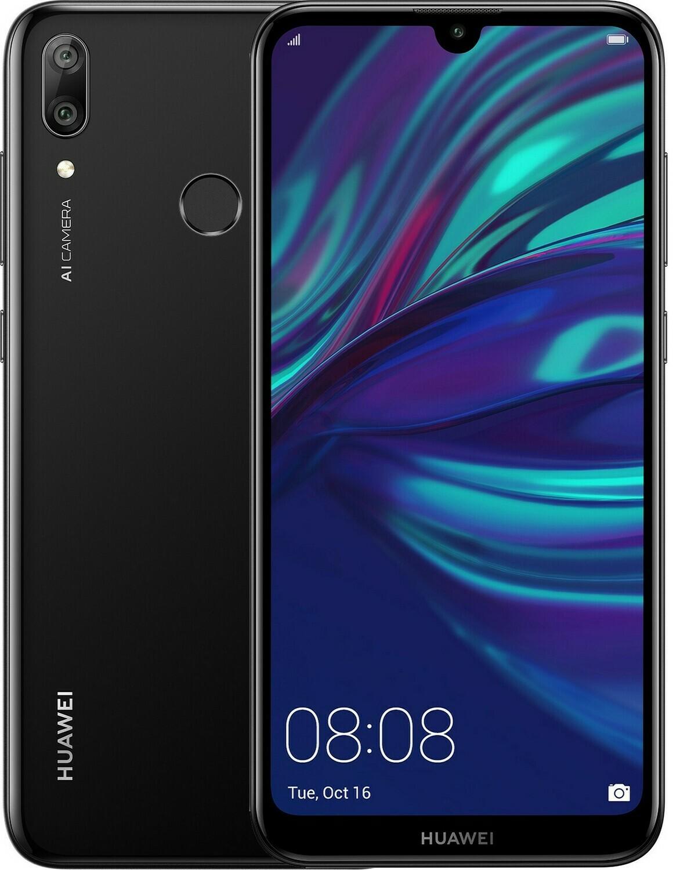 Смартфон Huawei Y7 2019 4/64Gb черный
