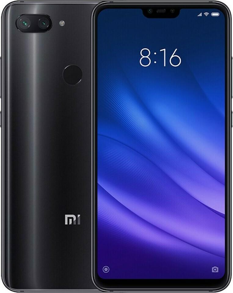Смартфон Xiaomi MI 8 Lite 4/128Gb черный